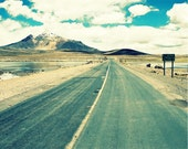 Road to Nowhere in Chile, 18x24 Fine Art Photograph