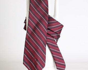 Men's Burgundy/Maroon stripe ties