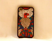 Thoughts from the Thunderbird, Iphone case, Iphone cover, Iphone 4/4s, inspirational quote, southwestern, thunderbird, masculine, changeable