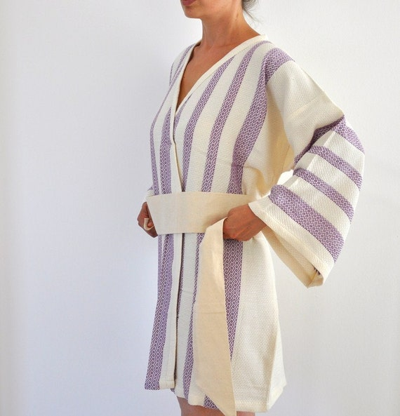 how to make a towel robe