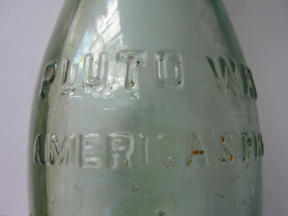 Vintage Pluto Water Americas Physic Bottle