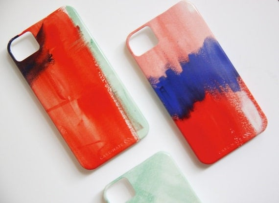 Watercolor iPhone and Samsung Galaxy Case
