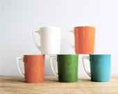 Vintage Set Ceramic Mugs