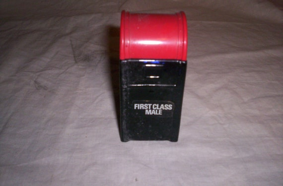 vintage mens after shave wild country mail box full