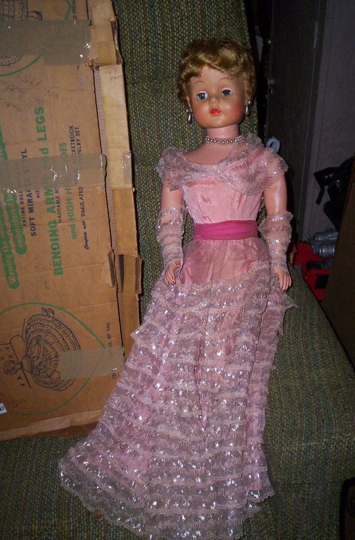 Vintage 1950 S Vinyl Sweet Rosemary Doll De Luxe