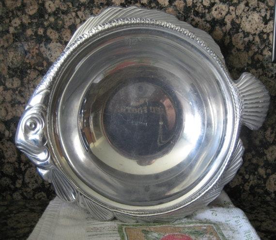 Vintage Gorham Fish Shaped Bowl