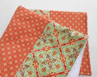 Dish Drying Mat / Orange Medley Dish Mat / Dish Drying Towel/ Dish Cloth/ Great Mothers Day Gift Idea for Women
