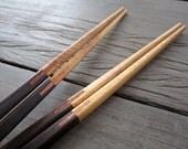 Wooden chopsticks unique & high quality 100% handmade design no.7