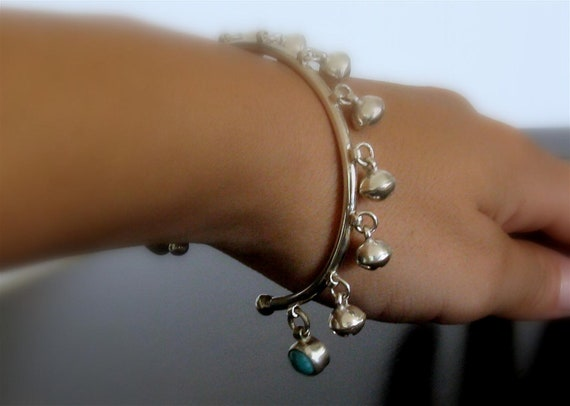 Timeless Heirloom Sterling Silver Jingle Bells Cuff // From Baby Anklet to Fashionable Cuff Bracelet