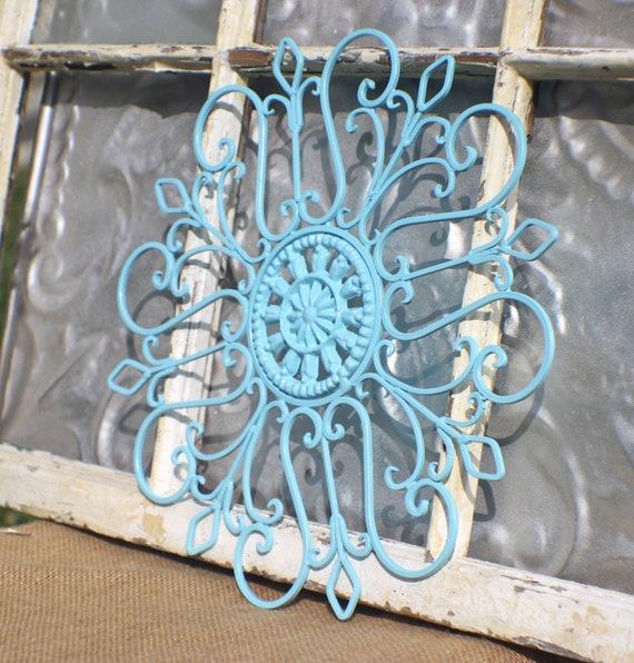 Metal Wall Decor Etsy : Items similar to wrought iron wall decor metal