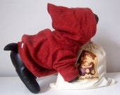 Upcycled Cashmere Dog Hoodie, SIZE XS