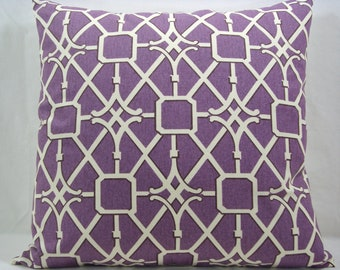 Waverly Modern Essentials Collection Purple 20x20