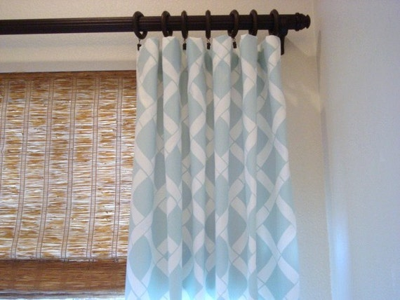 Key West Custom Rod Pocket Curtains Grommet By