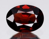 Deep Red Natural Spinel Faceted Oval 8 x 6 MM 1.09 Carat , Sri Lanka Close Out