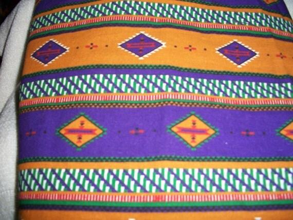 Native American Print Fabric