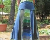 Upcycled T-shirt Pixie Dress