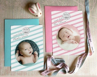 Sweet Sweet Baby Announcement Card