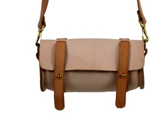 Cylindrical Bag/Purse Leather