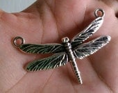 Blue Moon Beads Natural Elegance Dragonfly Pendant