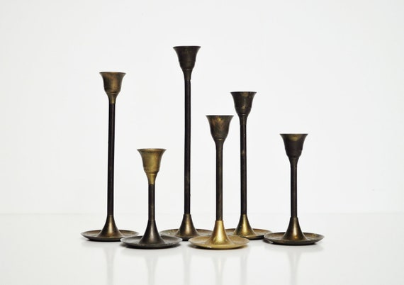 Brass Candle Holders - Instant Collection
