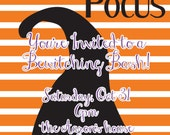 Halloween Hocus Pocus Invitation