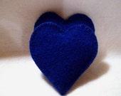 Pocket Hand Warmers Wool BLUE HEARTS