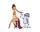 Star Wars: Princess Leia & R2D2