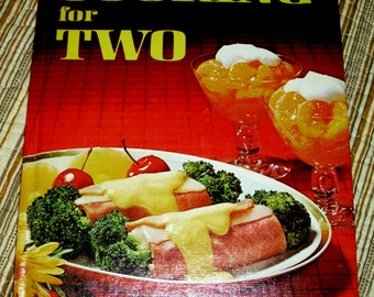 BH&G Cooking for Two Vintage Cookbook 1976