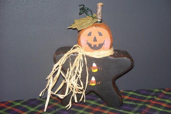 STAR Pumpkin Man