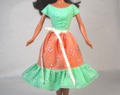 Fruit Ices - Barbie Dress Handmade Barbie Doll Clothes