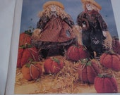 McCall's Crafts 7808 scarecrow sewing pattern