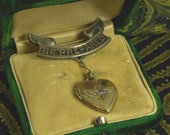 WWII Army Air Corps Sweetheart Locket- Sterling