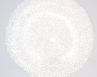 White SOLVENT RESISTANT Glitter 0.015 Hex - 1 Fl. Ounce for Glitter Nail Art, Glitter Nail Polish & Glitter Crafts