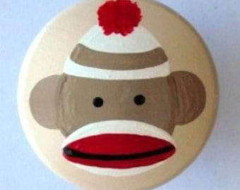 Sock Monkey Knobs