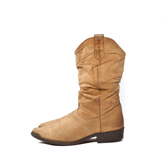 s western cowboy boots by zodiac usa in slouch