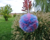Gender Reveal Party Decor, Twins Pompom, Twins Baby Shower Decor, Unique Pompom, Hen Party,  Bridal Shower,  Nursery Decor