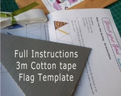 Make Your Own Bunting Kit - 3 meters including fabric