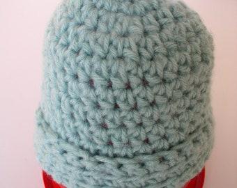 Sage Newborn / Baby Hat - 1591