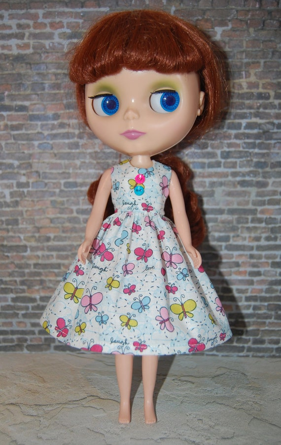 Blythe Dress - Butterflies and Buttons