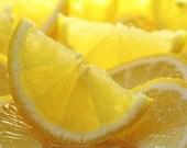 Pure LEMON Essential Oil, ORGANIC, 1/2 oz. OR 1 oz. size, Uncut!