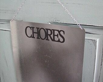XL CHORES Board