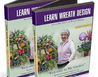 Learn Wreath Design 2 DVD How To Videos