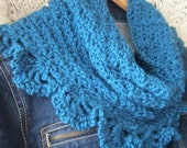Open Shell Crochet Cowl - PDF Pattern