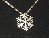 Snowflake Pendant - RESERVED