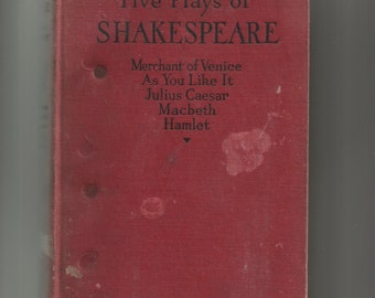 Five Plays of Shakespeare 1926