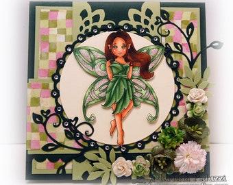 Handmade Greeting Card - Cadrian