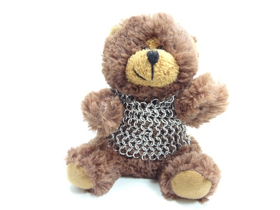 Knightly Teddy Bear In Chainmaille Shirt Will Protect You 2012 Series