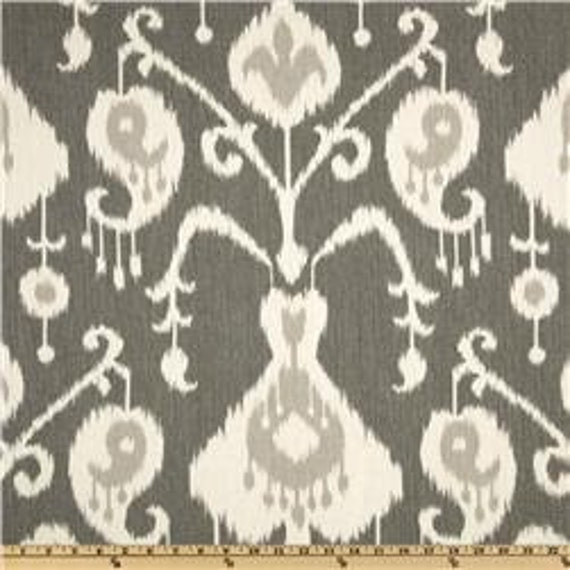 FREE US SHIPPING! Pillow Cover In Ikat In Pewter, Pillow covers, Throw Pillows, Available In Custom Sizes