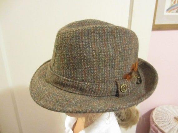 Vintage Pendleton Wool Fedora Size 7 1/4