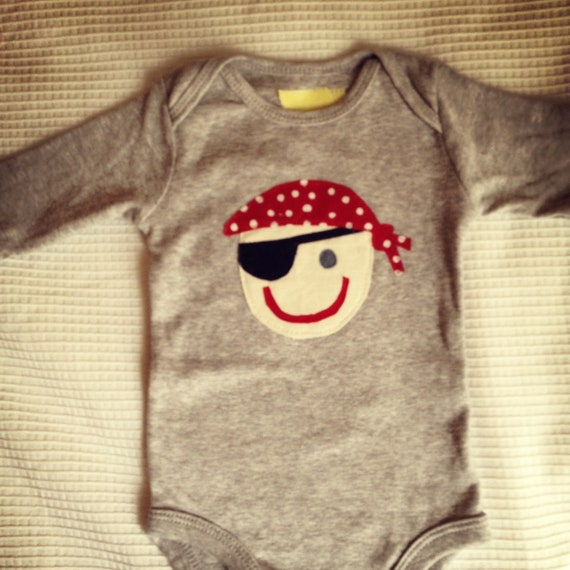 """Reserved for TK. 3 Custom Baby Onesies. One pirate, two """"I'm a Big Diehl"""" (play on last name)."""
